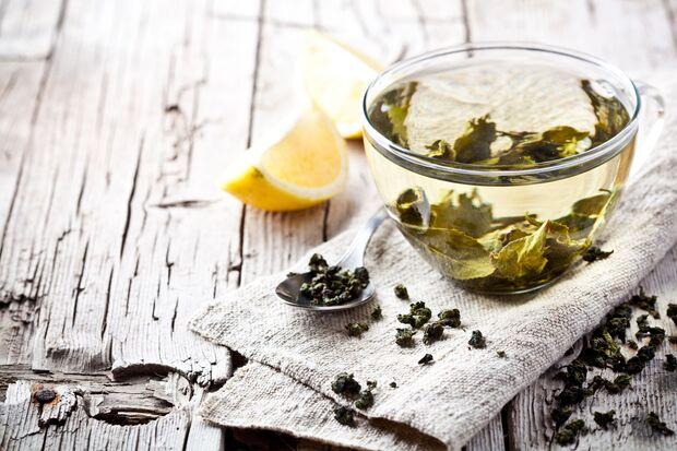 Die Antioxidantien im grünen Tee sind sehr gesund