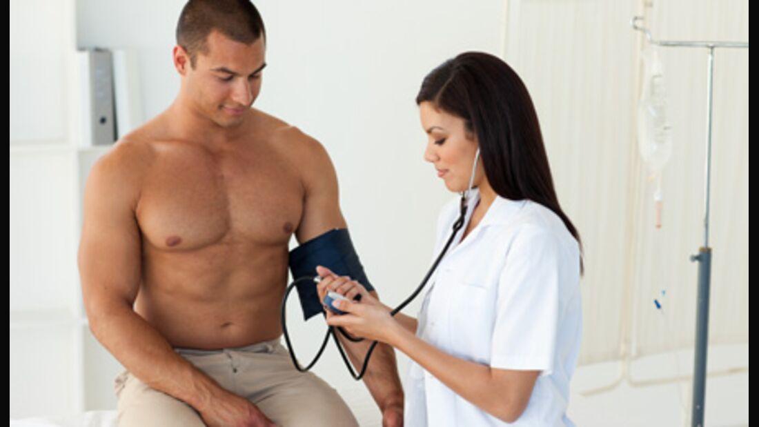 Die Blutdruckmessung gibt Informationen über die Funktion von Herz und Kreislauf