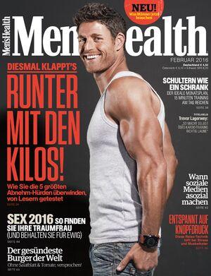 Die Februar-Ausgabe von Men's Health ist da