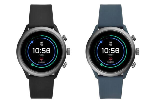 Die Fossil Sport Smartwatch in zwei Farbvarianten für Männer