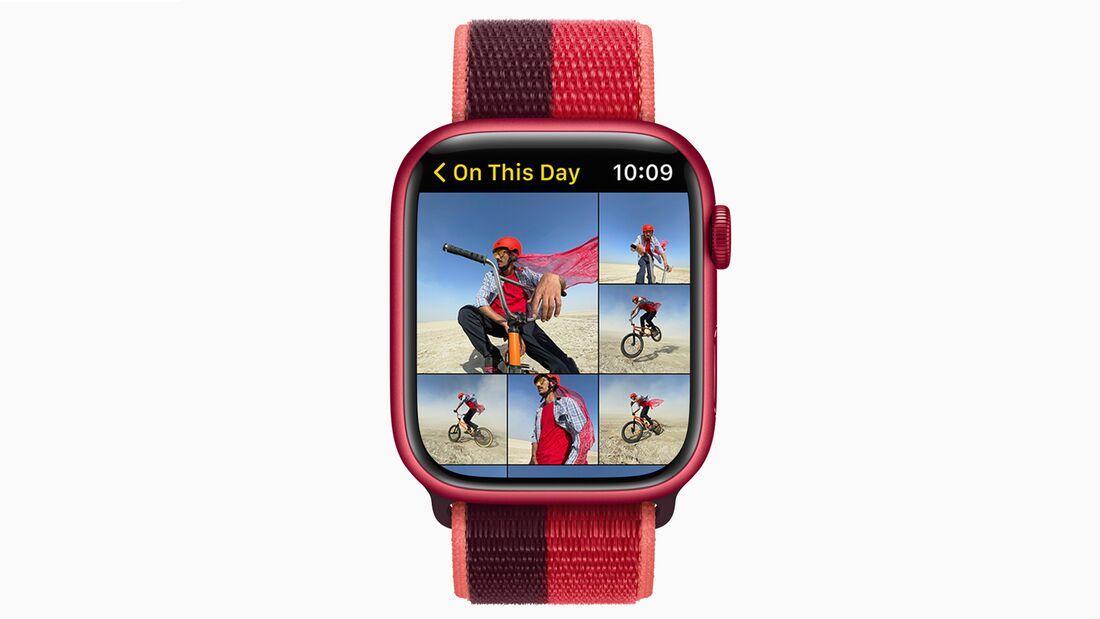 Die Foto-App auf der Apple Watch bekommt neue Features