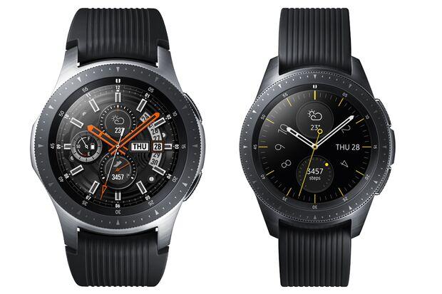 Die Galaxy Watch von Samsung