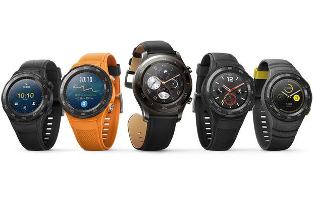 """Die """"Huawei Watch 2"""" ist ab März 2017 erhältlich"""