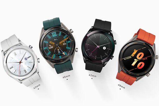 Die Huawei Watch GT-Familie