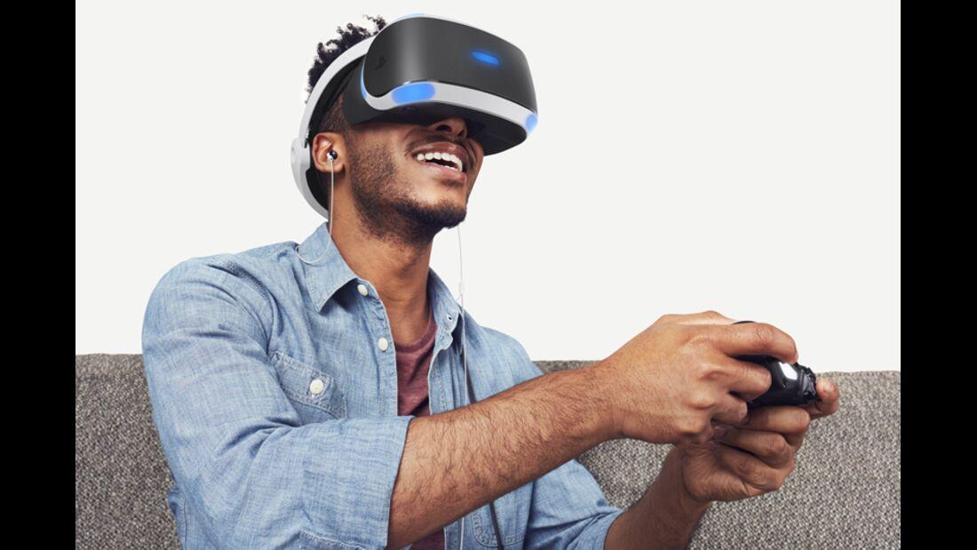 """Die """"PlayStation VR"""" von Sony"""