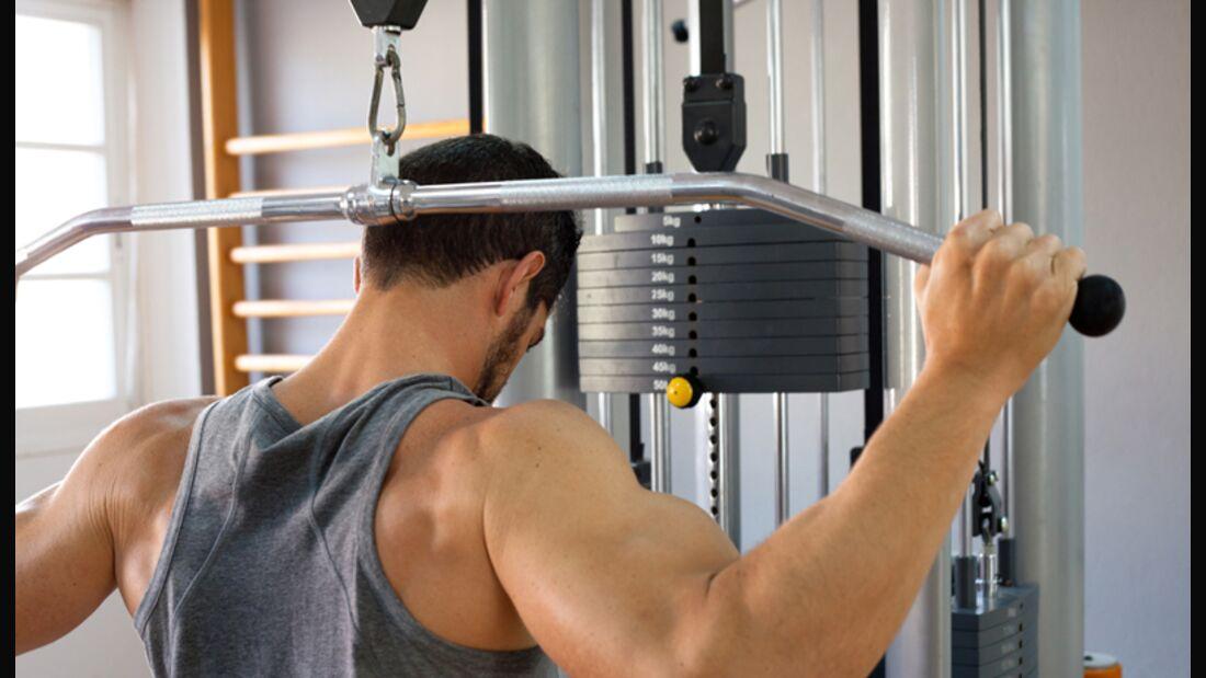 Die Rotatorenmanschette ist kein Trainingsgerät, sondern ein Zusammenschluss von Muskeln der Schulter