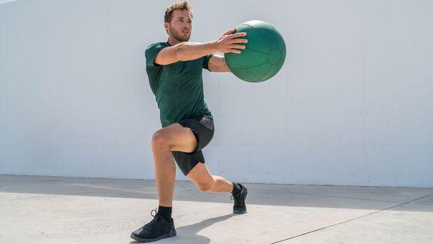 Die Rumpfmuskulatur sollte im Trainings-Mittelpunkt zu stehen