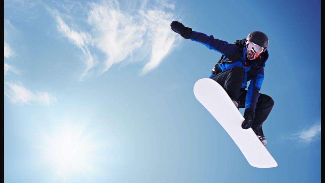 Die Snowboard-Tricks vom Profi