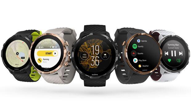 Die Suunto 7 ist die erste Uhr von Suunto mit Google Wear OS