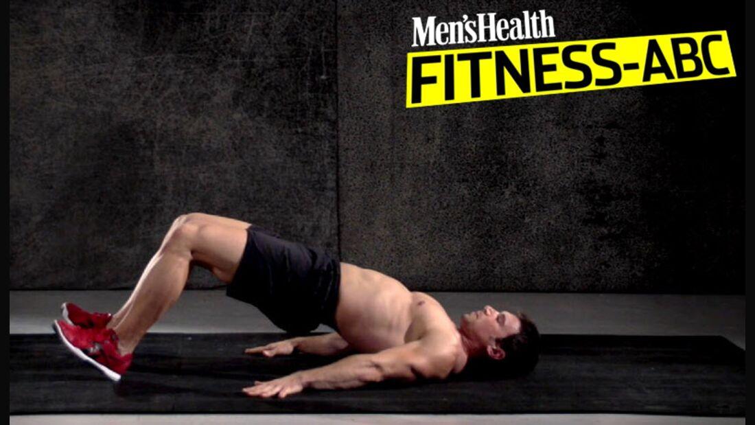 Die Top-Übung für das Gesäß: Das Beckenheben