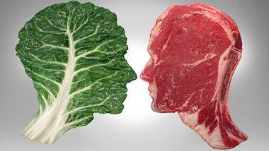 Die Umstellung zum Veganer beginnt im Kopf