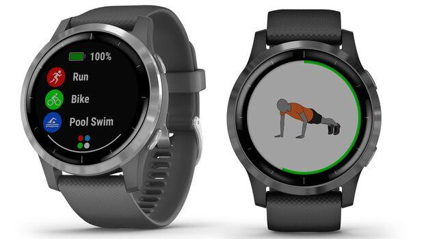 Die Vivoactive-Reihe von Garmin zählt zu den günstigen Uhren des Herstellers, bietet aber viele Smartwatch-Funktionen