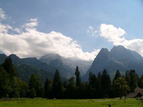 Die Zugspitze ist der höchste Berg Deutschlands