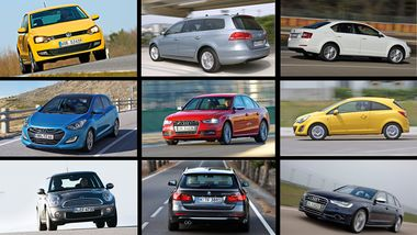 Die beliebtesten Autos Deutschlands