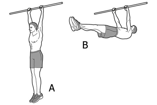 Die beste Übung für einen breiten Rücken: Front Lever Raises