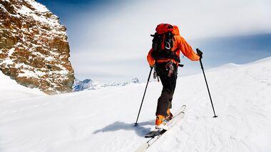 Die besten Gebiete für Skitouren