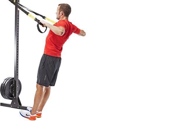 Die besten Übungen mit Schlingentrainer