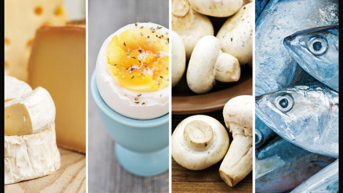 Die besten Vitamin D-Lieferanten