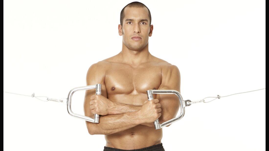 Die effektivsten Übungen für den Bizeps und Trizeps