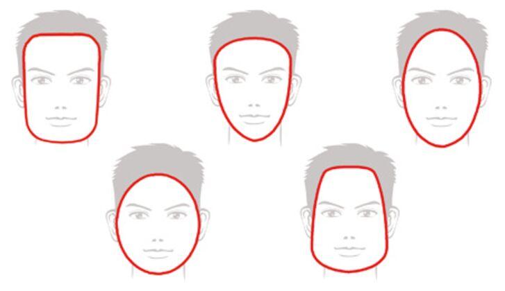 Eine richtige glatze für kopfform Welche Brille