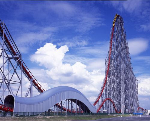 Die längste Achterbahn der Welt