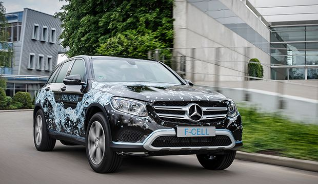 Die nächste Generation Brennstoffzellenfahrzeug von Mercedes-Benz: GLC-F-CELL