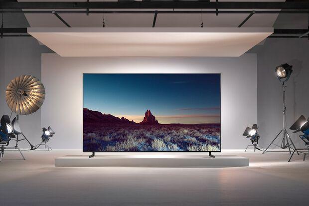 """Die neue """"Q900""""-Serie von Samsung mit QLED-8K-Technik"""