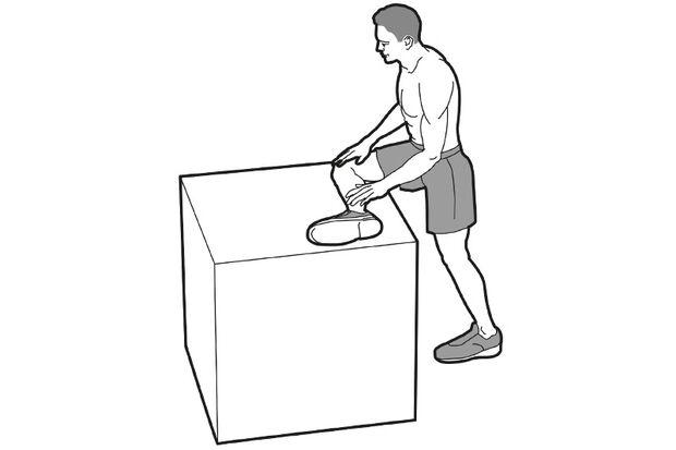 Die optimale Dehnübung für Bürohengste: stehender Hüft-Stretch