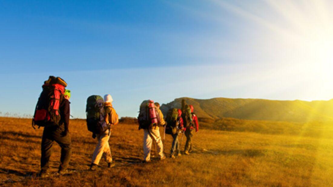 Die perfekt geplante Trekking-Tour