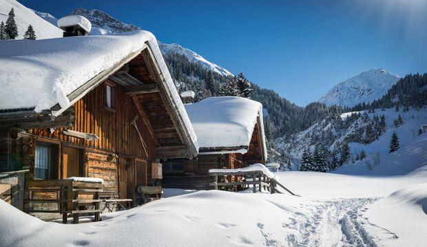 Die perfekte Skihütte