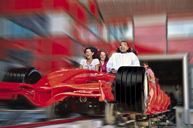 Die schnellste Achterbahn der Welt