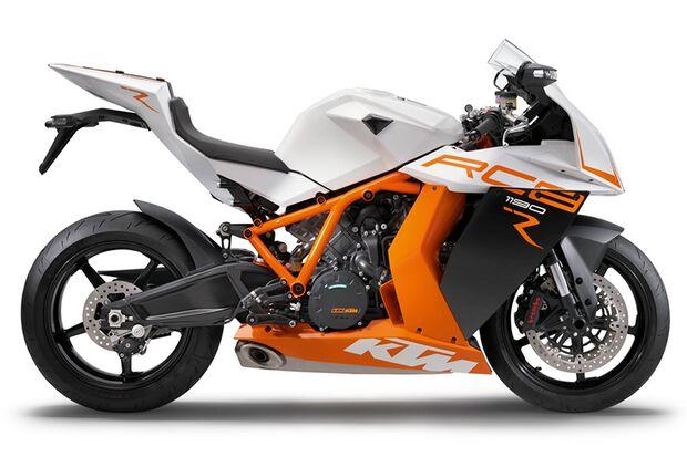 Die schnellsten Motorräder: KTM 1190 RC8 R