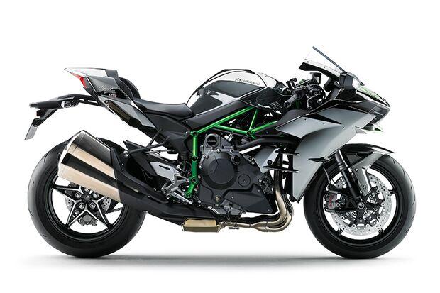 Die schnellsten Motorräder: Kawasaki Ninja H2