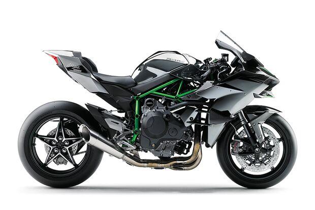 Die schnellsten Motorräder: Kawasaki Ninja H2R