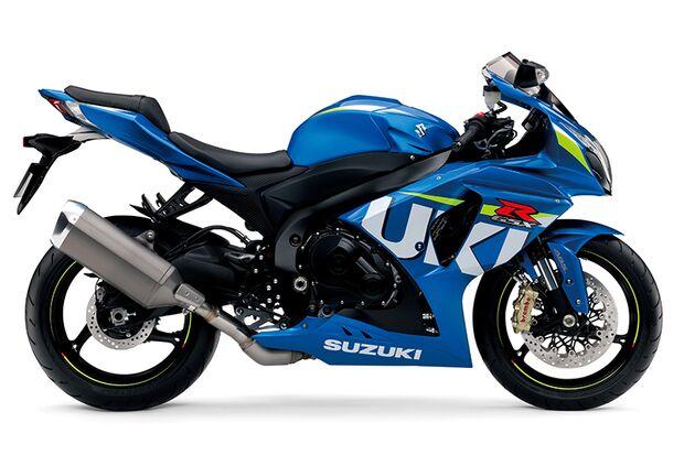 Die schnellsten Motorräder: Suzuki GSX-R1000 ABS