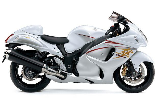 Die schnellsten Motorräder: Suzuki Hayabusa 1300 ABS