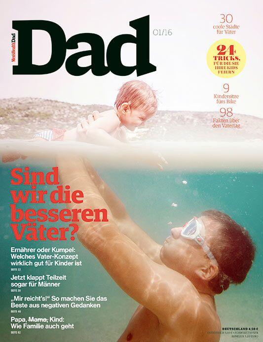"""Die zweite Ausgabe von """"Men's Health DAD"""" erscheint am 13. April 2016."""
