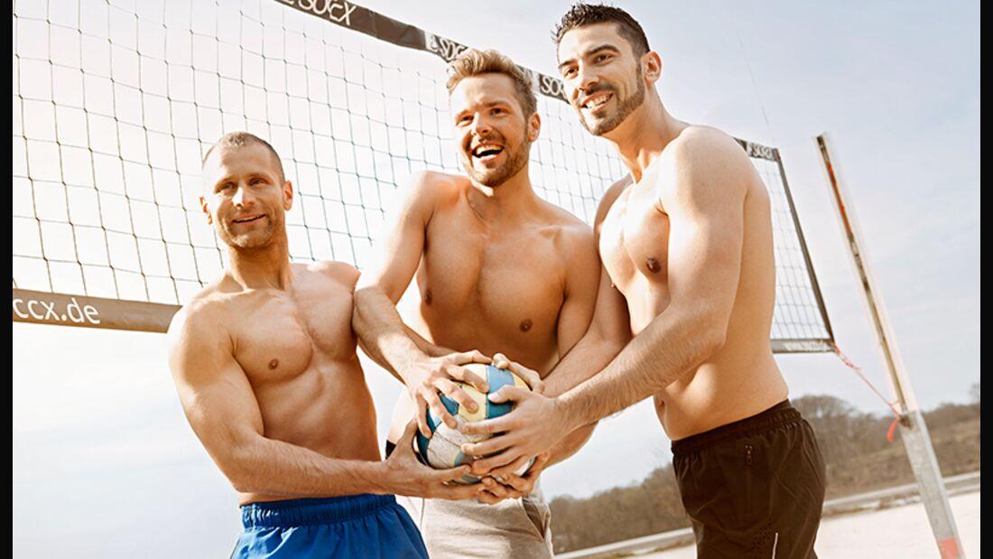 Diese Men's-Health-Leser zogen unseren 3-teiligen Strandfigur-Plan bis zum Ende durch