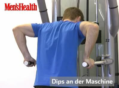 Dips an der Maschine Trainingsvideo
