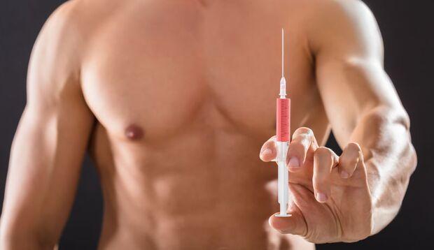 Doping mit HGH soll angeblich schlank machen, das stimmt aber nicht