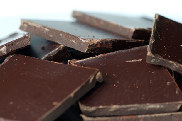 Dunkle Schokolade zählt zur gesunden Ernährung