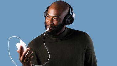 Durch die gleichzeitige Stimulation von Zunge und Gehör können Tinnitus-Beschwerden nachweislich gedämpft werden