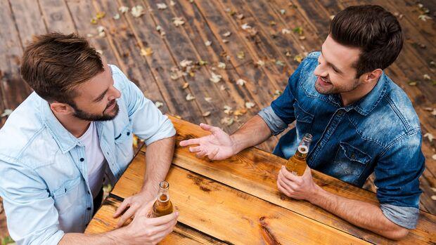 Durch ein Gespräch kannst du vieles zum Positiven wenden