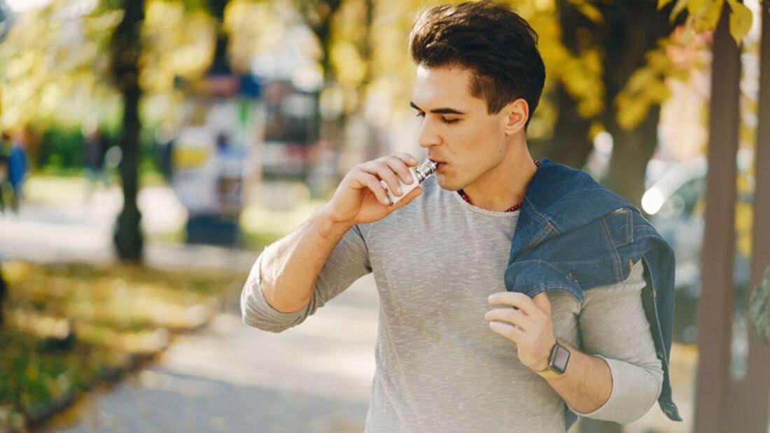 E-Zigaretten werden immer bliebter