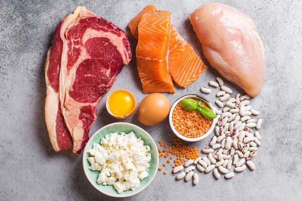 EAAs sind eiweißhaltige Lebensmittel wie Fleisch und Fisch