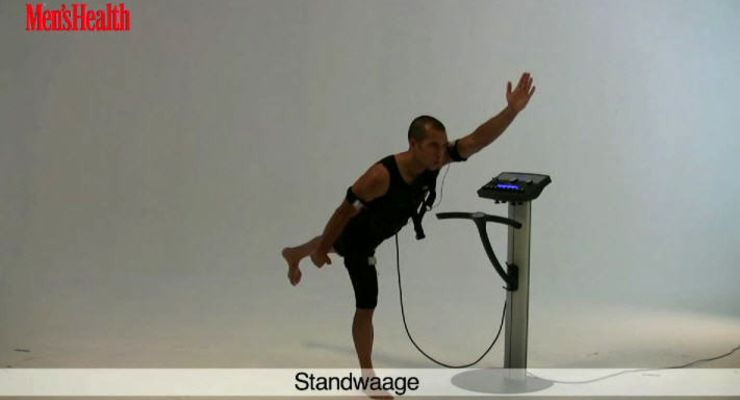 EMS-Training: STANDWAAGE