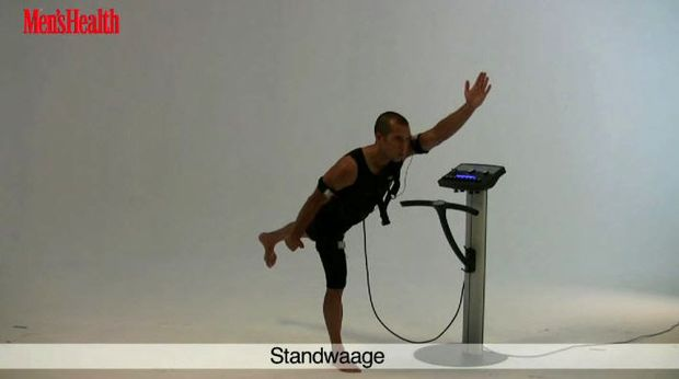 EMS-Training: STANDWAAGE