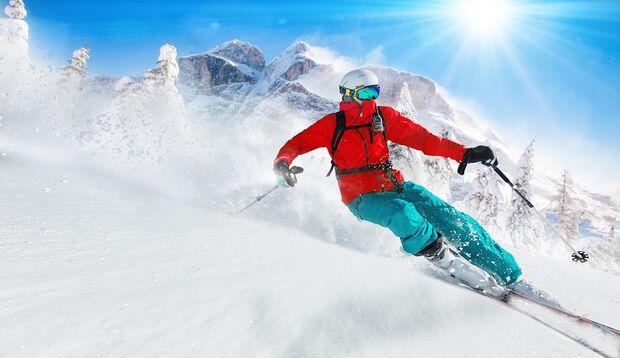 Echtes Skifahren verlangt Ihrer Fitness einiges ab.