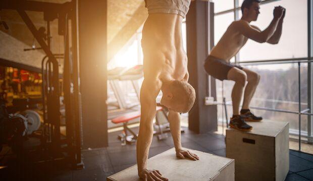 Effizientes Ganzkörpertraining fordert direkt mehrere Muskelgruppen gleichzeitig heraus