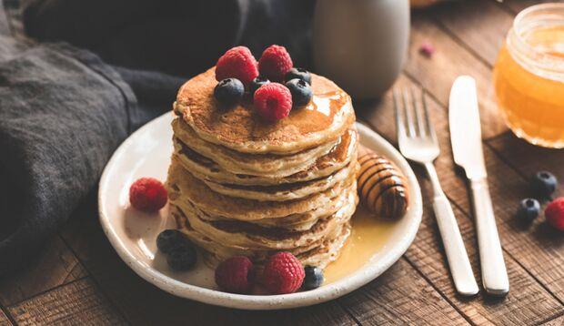 Egal ob zum Frühstück, als Snack oder nach nach dem Workout - Protein-Pancakes als idealer Eiweißlieferant